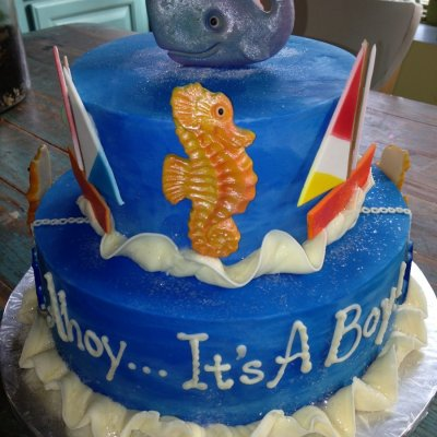 AHOY! IT'S A BOY