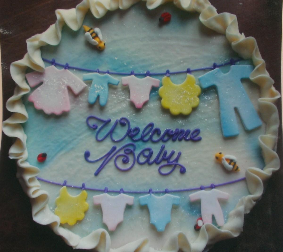 Bakery Custom Cake Gallery Baby