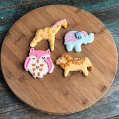 Zoo Animal Cookie Set $48/dozen