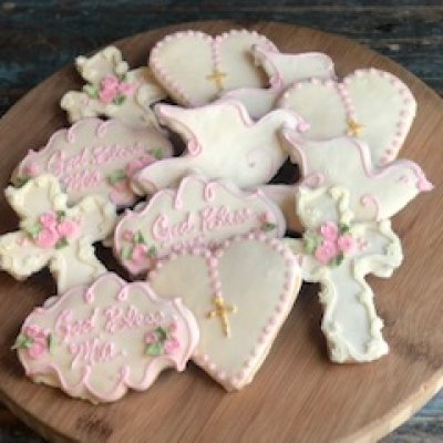 Baptism Cookie Set $54/dozen