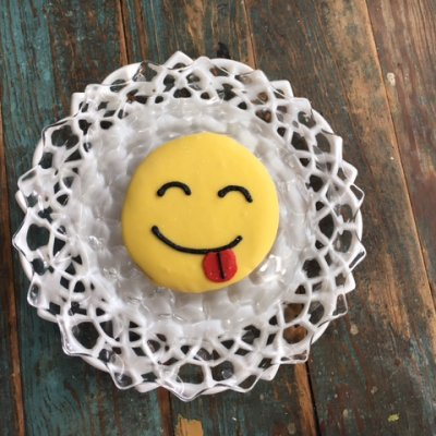 emoji tongue $3.25