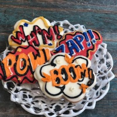 Superhero cookie set $54/dozen