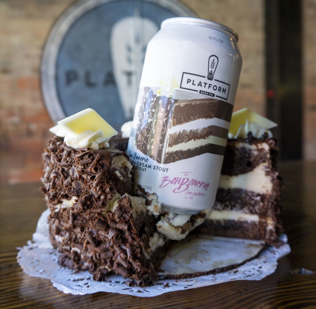 Opera Cream beer & cake