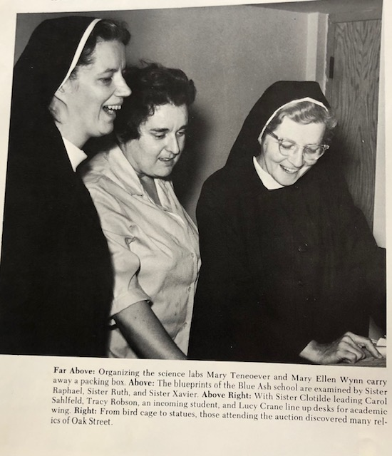 Nuns in their new habits