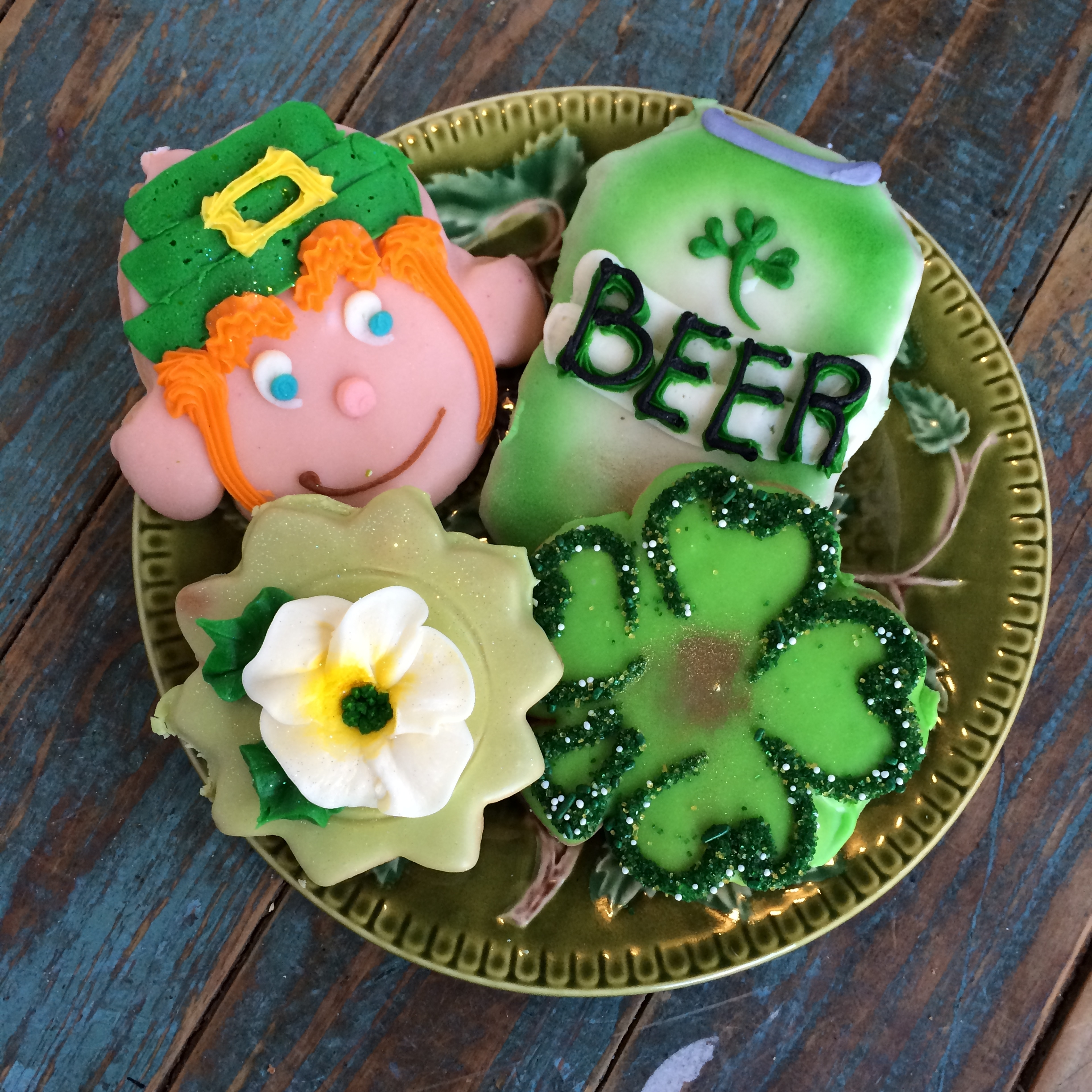 St Patty cutouts